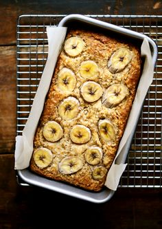 An easy, vegan, and gluten free banana bread with healthy millet flour and coconut. It's the best banana quick bread recipe ever! No refined sugars.