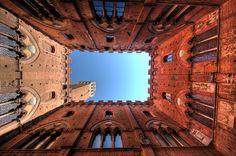Siena, Italy- and I climbed every single step.