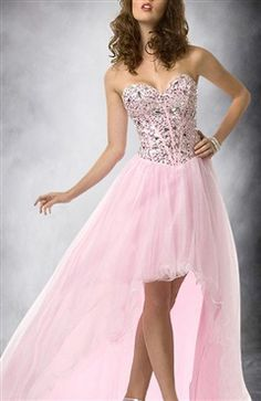 Corset Bodice Hi Lo Prom Dress Style Code: 09504 $164.00 Order Here: http://www.outerinner.com/corset-bodice-hi-lo-prom-dress-pd-09504-19.html#fashiondresses#outerinner
