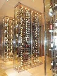 Image result for glass walk in wine coolers
