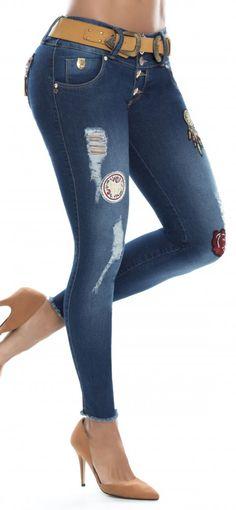 Jeans levanta cola REVEL 56173