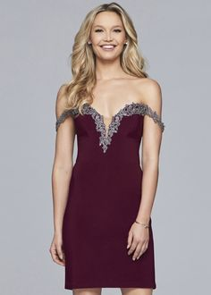 604af3b218e72 Faviana Glamour Dress S10152 | Terry Costa | Homecoming Dresses 2018 ...