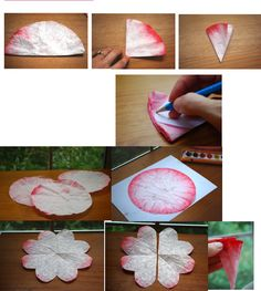 diy coffee filter rose tutorial pinterest filter coffee and craft