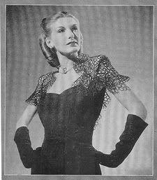 "Omar Kiam dress, From Life Magazine ""American Designers"" 1944"