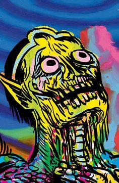 Gary Panter. #gary_panter http://www.widewalls.ch/artist/gary-panter/ #comics #urbanart