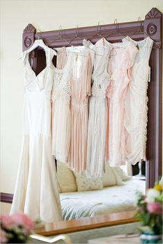peach-pink-bridesmaid-dresses.jpg and of course my girls will get they very own bouquet of flowers =) everything miss-matched but same tone yes!