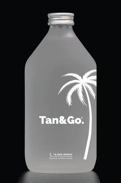 Limited Edition 2019 for @tan.and.go  Live photo: www.instagram.com/p/B2zu1ZnlNo6/ Natural Mineral Water, Premium Brands, Live, Bottle, Instagram, Flask, Jars