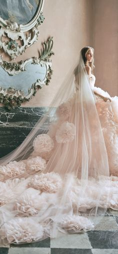 Monique Lhuillier Bridal FW 2020 You can find different rumors about the annals of the wedding dress; tesettür First Narration; Red Wedding Dresses, Gorgeous Wedding Dress, Wedding Gowns, Wedding Dress Etiquette, Queen Victoria Albert, Monique Lhuillier Bridal, May Weddings, Fairytale Weddings, Fashion Themes