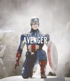 Chris Evans as Captain America - Visit to grab an amazing super hero shirt now on sale!