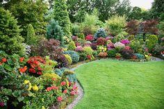 Английский сад Марии и Тони Ньютон.... English Garden of Mary and Tony Newton ....
