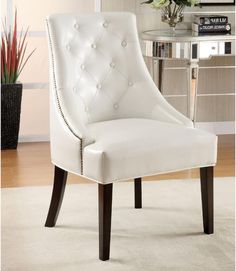 Coaster Furniture Cloverdale Armless Accent Chair Las Vegas Furniture Online | LasVegasFurnitureOnline.com | LasVegasFurnitureOnline