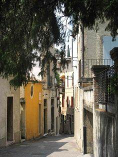 Northern Italy, Asolo, Bassano del Grappa.