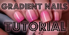 Gradient Nails Picture Tutorial ... video version: https://www.youtube.com/watch?v=dp43LNENQpU
