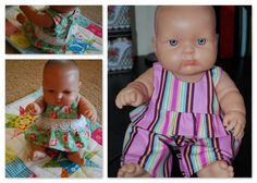 The Blueberry Moon: Nakey Baby ( doll clothes) free patterns and tutorials. I will be making lots of these for Sabrina's birthday! :)