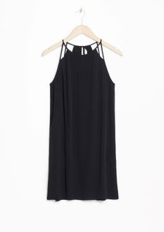 & Other Stories   Strappy A-Line Dress