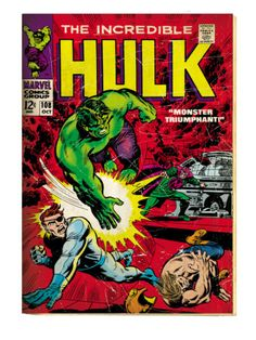 Incredible hulk 271 grade 80 bronze age find 2nd rocket raccoon the incredible hulk 108 fandeluxe Gallery