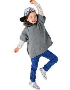 Modèle poncho Enfant