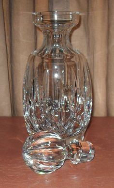 Waterford Crystal is so great.,,on my Irish trip way up in Dingle at an antique shop the lady has tons of old gorgeous pieces & she let me choose which stopper