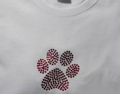 Custom Rhinestoned PAWS Medium T-Shirt: http://www.outbid.com/auctions/11810-everything-bazaar-special-edition#103