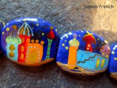 °° jasmin french°° lampwork beads isfahan oriental night on ebay.com