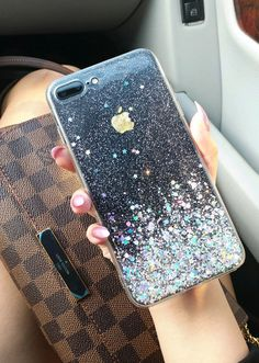 Glitter Dust iPhone 7 case iPhone 7 plus case by HandmadebyTN