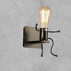 Retro Industrial Style Creative Country Wrought Iron Restaurant Cafe Bars Bar Table Wall Lights 5020901 2016 – $46.99