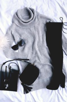 Monocromatic Winter Outfit