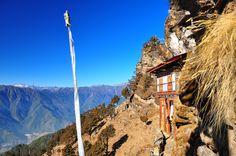 Bumdra Monastery, Bhutan at 3,800metres.