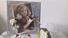 Ada Art&Craft Vintage Cards, Decoupage, Arts And Crafts, Greeting Cards, Frame, Home Decor, Decoration Home, Frames, A Frame
