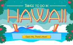 Time to visit beautiful Hawaii! With Expedia, it's easy to arrange Hawaii tours and find top attractions and things to do. We work daily to bring you an ever-growing selection of activities in Hawaii. That includes coupons and special discounts on many top tourist attractions.