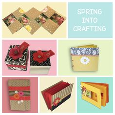 Spring is one of my favorite seasons because of all the flowers, and I decided to share some of my favorite flower projects with you to celebrate spring. www.sandigenovese.com #diyhandmade #sandigenovese #springcrafts