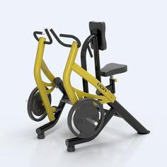 Seated Row Optimus – Optimus Line – Articulated - GYM workout Best Home Gym Equipment, No Equipment Workout, Gym Workouts, At Home Workouts, Dream Gym, Gym Accessories, Garage Gym, At Home Workout Plan, My Gym