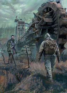 This Survival School For Survival Videos looks entirely brilliant, will have to bear this in mind next time I've got a little cash in the bank. Apocalypse Art, Apocalypse Survival, Mad Max, Cthulhu, Zombies, Roadside Picnic, Post Apocalyptic Art, Dystopian Future, Military Art