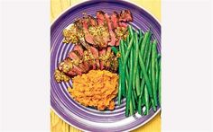 Pigeon, served with green beans, sweet potato and a mustard sauce 5 2 Dinners, 5 2 Diet, Green Bean Recipes, Healthy Living, Eat Healthy, Pigeon, Green Beans, Sweet Potato, Diet Recipes