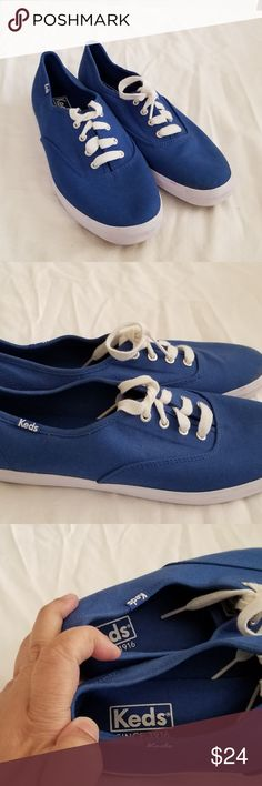 Keds Women's lace up Sneaker WF54516 For your consideration:  Keds Women's lace up Sneaker blue WF54516  Size 8 M keds Shoes Sneakers