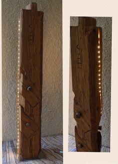 Altholz Balken mit LED