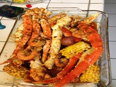 This recipe attempts to recreate the Cajun crawfish recipe served at Vietnamese restaurants in Little Saigon like The Boiling Crab, Claws, or The Crawfish House.  Its whats known as Asian fusion, and the recipes are kept top secret.  Buy 1-2 pounds of crawfish per person.