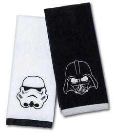 Star Wars Darth Vader & Stormtrooper Hand Towel Set