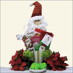 Children's Holiday Christmas Gift Basket     What a festive gift basket for this wonderful holiday season!  Our Children's Holiday Christmas Gift Basket will bring a smile to their faces when they see this fun and festive gift basket crafted especially for your little loved ones!  $34.99    http://www.littlegiftbasketboutique.com/item_920/Childrens-Holiday-Christmas-Gift-Basket.htm