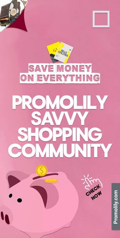 The savvy community marketplace, we make together to save together. Let's share & discover the best deals from world top brands and stores, to get more with less, living a happy & healthy life. #Promolily #SavvyShopping #SaveMoney #SavvyCommunity #Deals