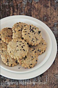 My Diverse Kitchen: Masala Biscuits (Spicy Savoury Indian Cookies)