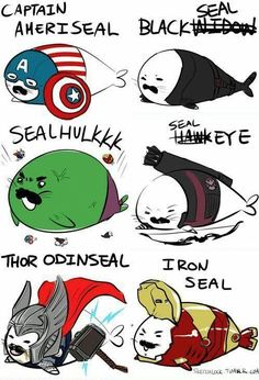 Earth's Seal-yist Seals.