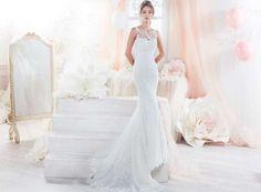 Abito da sposa a sirena Colet - Colet presenta abito da sposa a sirena con pizzo