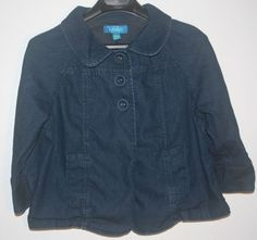 Trixie + Lulu Denim Jean Jacket 3 Button Large L #TrixieLulu #JeanJacket #FallFashion #outerwear