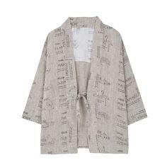 Yellowpelota Colour Linen Kimono Jacket-product
