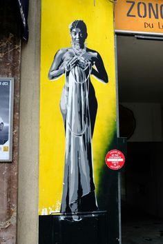 Vitry-sur-Seine - av. Paul Vaillant Couturier - street art - indigo