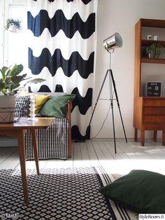 Olohuone - Sisustuskuvia jäseneltä MiiMii - StyleRoom Curtains, Interior Design, Home Decor, Nest Design, Blinds, Decoration Home, Home Interior Design, Room Decor, Interior Designing