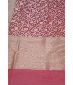 Pink Pure handloom banarasi silk Katan by georgette opara gold Zari weaving saree--------When we talk about wedding or bridal sarees, the first kind of saree strikes in our mind is Banarasi sarees.These sarees are known for their gold and silver brocade or zari, fine silk and opulent embroidery, and being highly sought after. ---------------------------------Sarees from Luxurionworld.com Whatsapp +917710801701