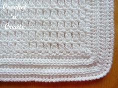 Christening Shawl uk Free Crochet Pattern - Crochet 'n' Create Crochet Baby Blanket Tutorial, Crochet Baby Blanket Beginner, Crochet Blanket Patterns, Baby Knitting, Crochet Blankets, Christening Blanket, Baby Christening, Crochet For Kids, Free Crochet