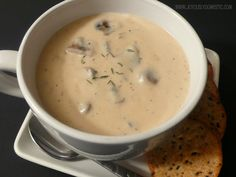 Joyously Domestic: Homemade Cream of Mushroom Soup